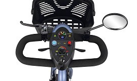 Merits 3-Wheeled Mini Scooter - Classic Style