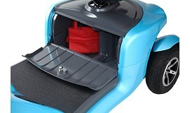 Merits 4-Wheeled Full Suspension Elegant Electric Scooter