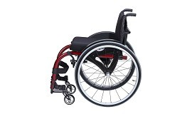 Merits European Style Active Wheelchair Rigid Frame