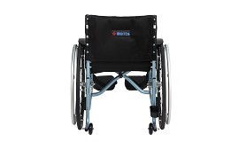 Merits Detachable Footrest Active Wheelchair Folding Frame