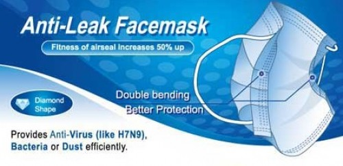 Anti-Leak Face Mask