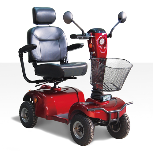 4 Wheels Mid-Size Scooter
