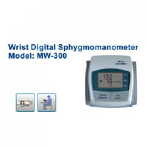 Wrist, Digital Blood Pressure Monitor