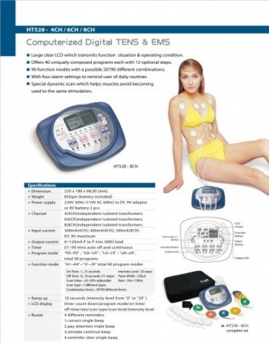 Computerized Digital TENS & EMS