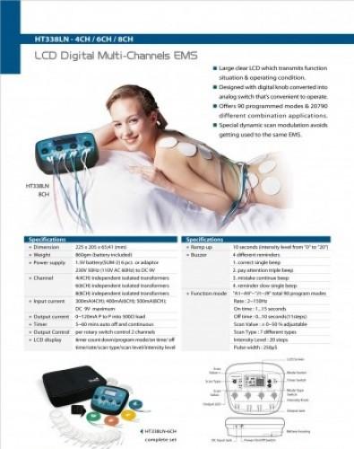 Muscle Exerciser & Slimming Stimulator