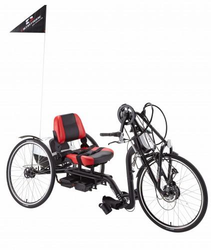 Hand Crank e-Tricycle (e-3C)