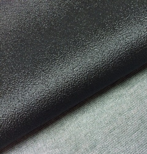 Embossed PVC / Polyester knit For Non-slip Mattress Bottom