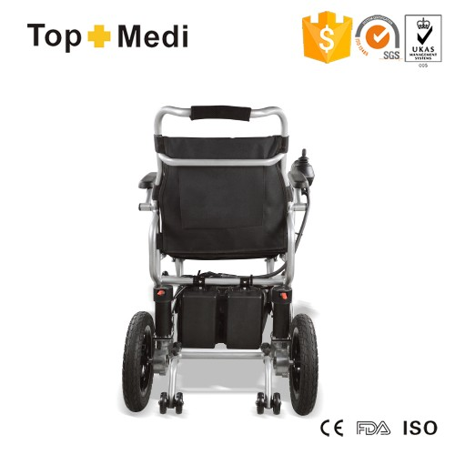 16KG portable lightweight small folding electric wheelchair TEW046