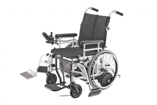 Hybrid WheelChair-Motorized & Manual