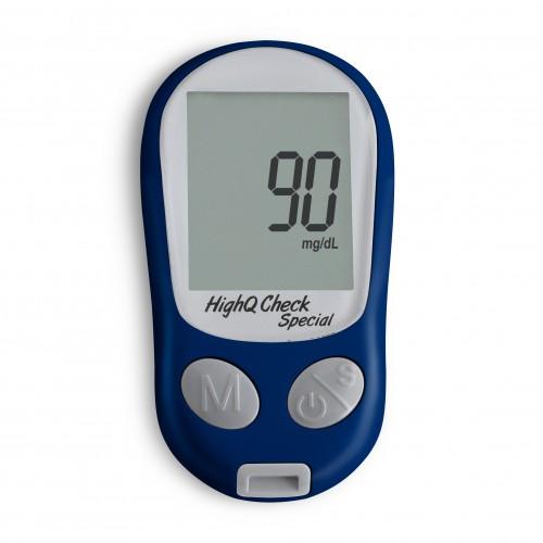 HighQCheck Multi-Functional Blood Glucose Monitoring System(Cholesterol/Uric Acid)