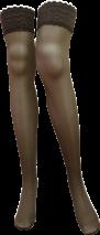 OEM Sheer compression thigh high stockings 18-21, 23-32 mmHg