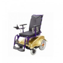 Height adjustable wheelchair