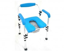3 IN 1 SHOWER & COMMODE CHAIR
