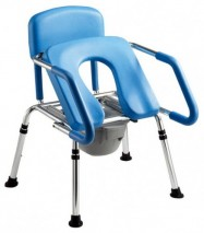 EASY UP COMMODE CHAIR