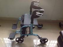 Transport Wheelchair/Rollator