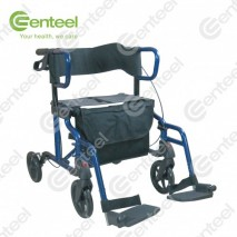 Rollator With Footrest