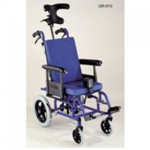 Special pediatric positioning tilt-in space wheelchair