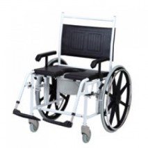 Commode Aluminum Wheelchair