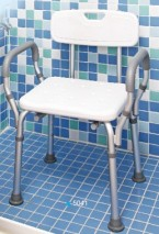 Quick-Released Shower Chair w/Back