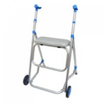 "1"" 2-Wheel Alum. Rollator"