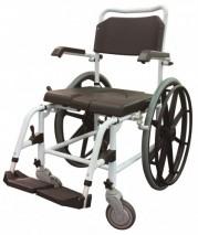 Commode / Wheelchair, Aluminium