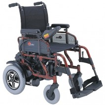 Merits Tubular Folding Frame Power Wheelchair