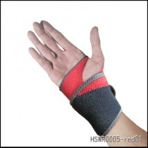Wrist support for medical brace