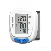 Wrist-type Fully Automatic Blood Pressure Monitor, Large LCD, 120 Memories