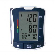Digital Blood Pressure Monitor with Fully Automatic and Wrist Type