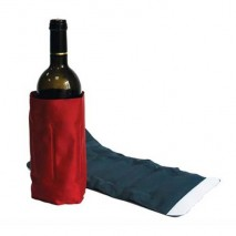 Wine bottle cooler