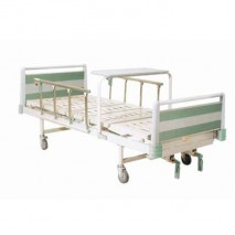 Double Crank Manual Bed