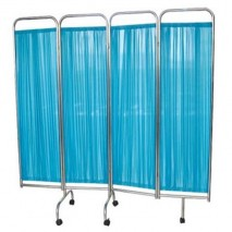 Stainless Steel 4-Fold Ward Screen
