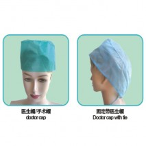 disposable surgical non-woven cap