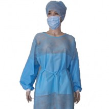 Non-woven Surgical Gown with Mask