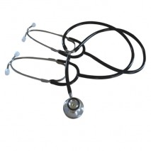 Dual-head teaching stethoscope