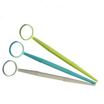 Plastic dental mirror