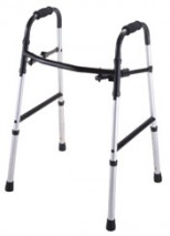 Super Folding Walker with Two Buttons