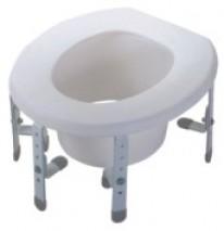 Adjustable Raised Toilet Seat
