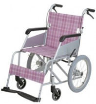 Aluminum Folding Transport Chair