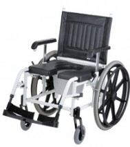 Mobile Commode Shower Chair