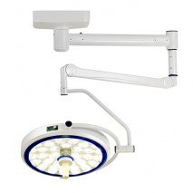 (LED) COOLED SURGICAL LIGHT - SLK SERIES (Ceiling-Mounted Type) Single Cupola, Modern Arm
