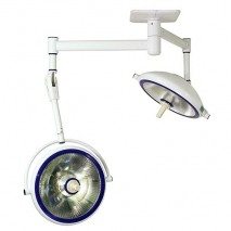 Halogen Surgical Lights - SLG SERIES (Ceiling-Mounted Type) Dual Cupola