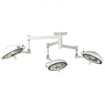 Halogen Surgical Lights - SLG SERIES (Ceiling-Mounted Type) Triple Cupola