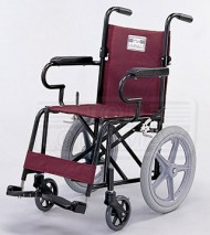 Aluminum Transporter Wheelchair