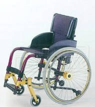 Aluminum Alloy Sport Wheelchair