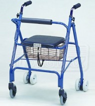 Folding Four Wheels Walker