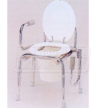 Swingdown Arm Commode