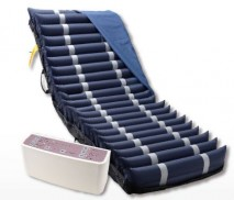 "5"" Advanced Digital Alternating Overlay Air Mattress & Pump System"