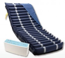 "5"" Digital Alternating Overlay Air Mattress & Pump System"