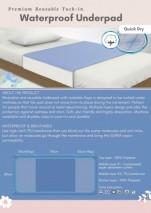 Reusable Waterproof Underpad (Tuck-in)